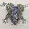 925 Sterling Silver Stone Frog Articles