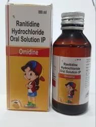 Ranitidine Hydrochloride Oral Solution IP