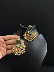 Profused Kundan Earrings