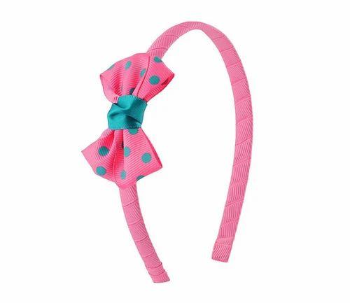 Plastic Stol  n Kids Bow Hairband (Pink) 9198fcaf8b6