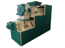 Duplex Vacuum Type Soap Plodder Machine, Capacity: 1 to 10 tons/hour