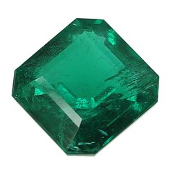 Green Zambian Emerald Gemstone