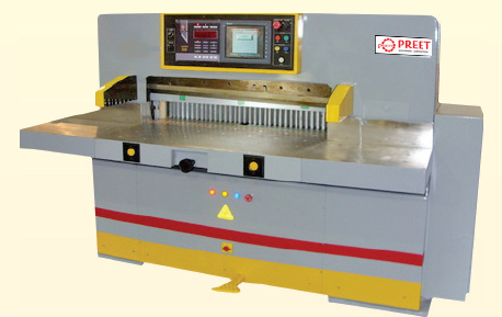 Preet Stainless Steel Hydraulic Fully Automatic Paper Cutting Machine