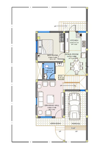 Row House Plan