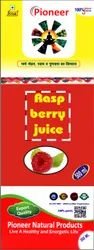 pioneer natural RASP Berry Juice 500 ml, Packaging Type: Hdpe Bottle With Box