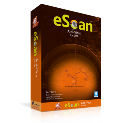 EScan Anti-Virus for SMB - View Specifications & Details of