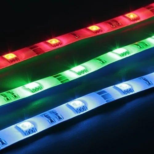 Pvc Rgb Led Strip Rs 51 Meter Ab Electronics Id 16917040230