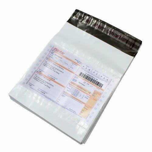 79617de5f51b LDPE Plain Security Bags With POD Jacket