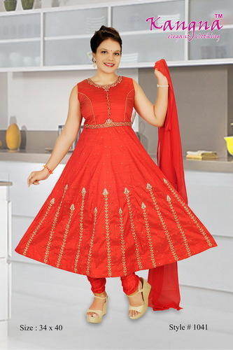 5655d03001 Party Wear Handwork Anarkali Suits, Rs 1500 /piece, Kangna Creation ...