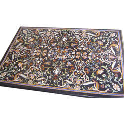 Marble Inlaid Precious Table Top
