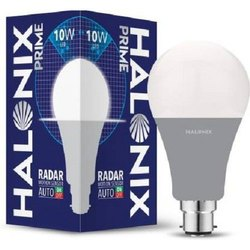Round Cool daylight 10 W Halonix Radar LED Sensor Blub