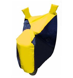 Sporty Double Colour Bike Body Cover