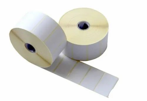 """Thermal Transfer Barcode Labels Stickers, 60mm X 40mm X 1000 Labels in Roll, 1"""" Core  (Pack of 2)"""