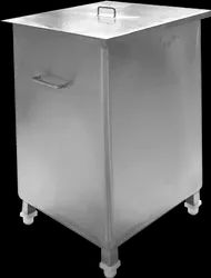 Stainless Steel Square SS Box, For Hospital