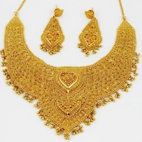 buy lct necklace bridal gold dp golden stones plated apara for women pearl set