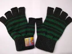 Half Finger Woolen Gloves