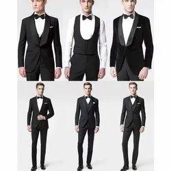 Men Cotton Wedding Suits