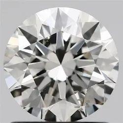 1.00ct Lab Grown Diamond CVD F SI2 Round Brilliant Cut IGI Crtified Type2A