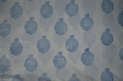 Hand Block Cotton Indian Sanganeri Printed Fabric