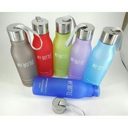 Plastic Water Bottle, Shape: Round