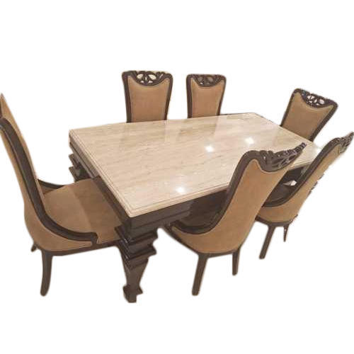 6 Seater Dining Table Set At Rs 75000 Piece Dining Table Set Id 20040411148