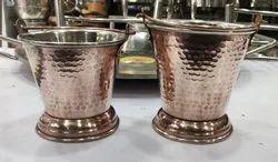 Copper Hammered Serving Dishes