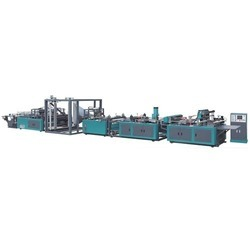 Fully Automatic Non Woven D Cut Bag Making Machine