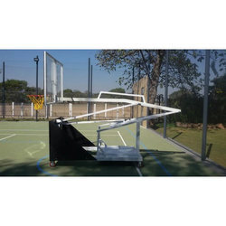 Movable And Adjustable Basketball Post