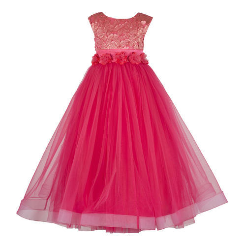 Coral Princess Gowns For Baby Girls Packaging Type Poly Rs 670