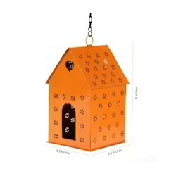 Craftkriti Metal Bird House for Home Purpose