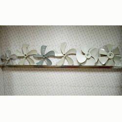 Paras Grey, White Plastic Cooler Blades