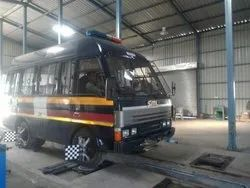 Police Vehicle Tyre Alignment Repairing Service