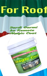 Magic Coat Heat Resistance Cool Roof Paint/Cool Coat Paint (For Roof)