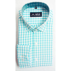 AFLE M and L Mens Formal Check Shirt