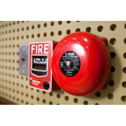 Red Fire Alarm System