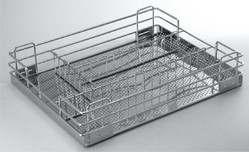 SS Cutlery Kitchen Trolley Basket