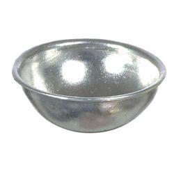 Silver Aluminium Bowl
