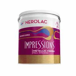 Nerolac Impressions Metallic Finish Emulsion Wall Paint