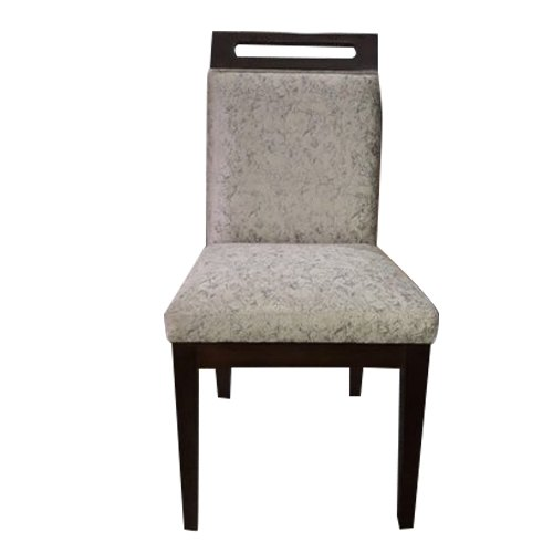 Grey & Brown Armless Wooden Chair