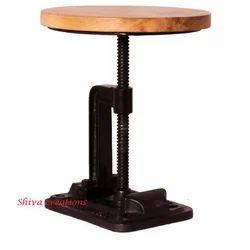Shiva Creations Standard Wooden Stool