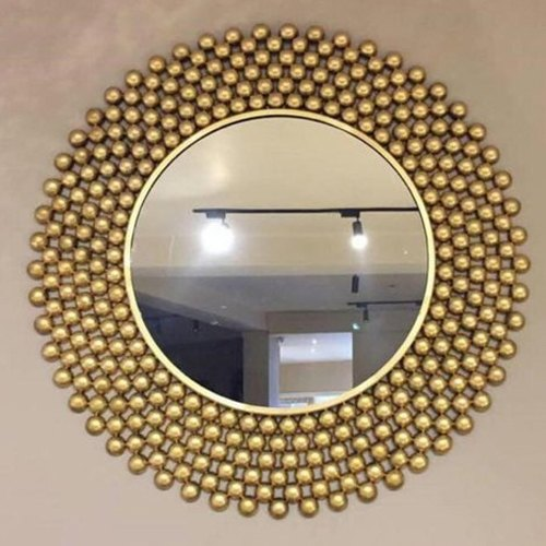 Decorative Wall Mirror Decorative Butterfly Round Wall Mirror Manufacturer From Gurgaon