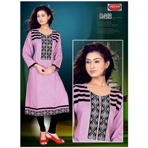 e002a87edf Available In Many Colors Casual Printed Rayon Kurti, Rs 300 /piece ...