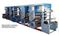 Light Duty Rotogravure Printing Machine