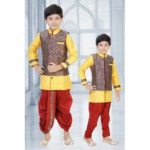 98a66a294d56 Kids Designer Dhoti Kurta at Rs 850 /piece | Mumbai | ID: 15740135862