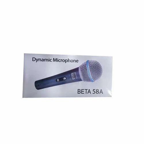 Shure Black Beta 58A Dynamic Microphone