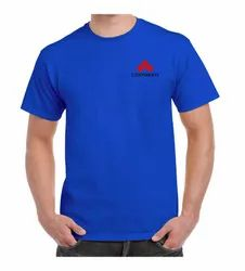 180 GSM Cotton Corporate Round Neck T Shirt