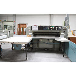 Wohlenberg Programmable Paper Cutting Machine