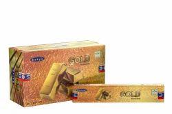 Satya  Gold  Incense Sticks 15 Gram Pack