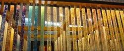 Polished Glass Pillar, Size: HEIGHT-8FT