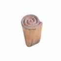 Spiral Pattern Wooden Textile Printing Blocks